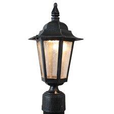 "Kiss Series 1 Light 12"" Outdoor Post Lantern"