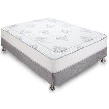 """Decker 10.5"""" Firm Hybrid Memory Foam & Innerspring Mattress"""