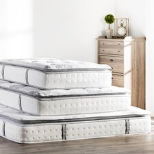 """Mercer 12"""" Pillow Top Cool Gel Memory Foam & Innerspring Mattress"""