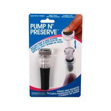 Pump'N Serve Bottle Stopper