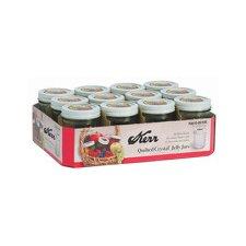 8-Ounce Decorative Jelly Jar (Set of 12)