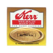 Wide Mouth Canning Jar Lids (12 Count)