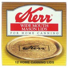 Wide Mouth Canning Jar Lid (Set of 12)