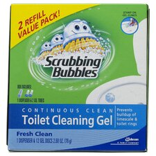 Fresh Clean Scrubbing Bubbles Toilet Cleaning Gel