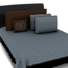 Morning Leaves 5 Piece Coverlet Set