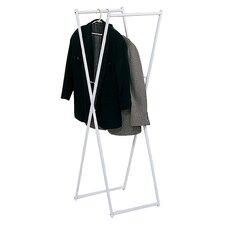 "Folding Clothes 17.5"" Clothes Rack"