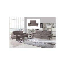 Divani Casa Potash Modern Fabric Sofa Set