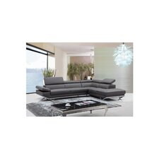 Divani Casa Quebec Modern Right Sectional
