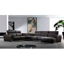 Divani Casa Tempo Sectional Sofa