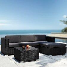 Renava Coiba Modern Outdoor 4 Piece Deep Seating Group