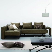 Divani Casa Olympic Modern Sofa with Chaise