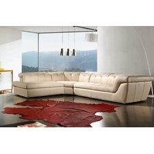 Divani Casa Refata Leather Sectional