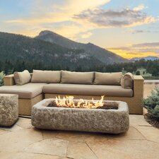 Limestone Propane Fire Table