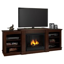 Hawthorne TV Stand with Gel Fireplace