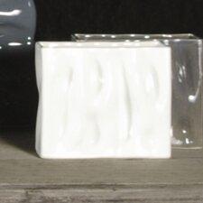 Square Ripple Vase