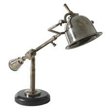 "Author's 16.1"" H Table Lamp with Bell Shade"