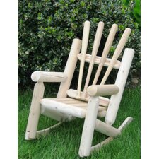 Children's Snow Log Rocking Chair