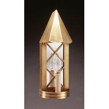 Sconce 1 Light Candelabra Socket Plain Mirror Sconce