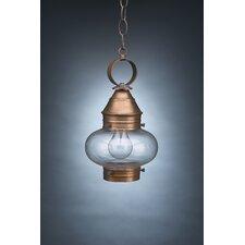 Onion 1 Light Outdoor Hanging Lantern
