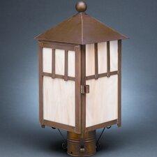Lodge 1 Light Post Lantern