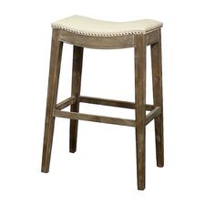 "Elmo 31"" Bar Stool with Cushion"