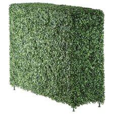 Faux Boxwood Rectangular Hedge