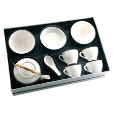 Ceramic 13 Piece Breakfast Dinnerware Set