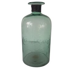 Fall Medium Glass Decorative Bottle