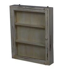 Fall Medium Wood and Glass Cabinet