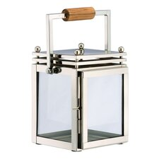 Glass and Stainless Steel Corbusier Lantern