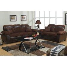 Bobkona 2 Piece Storage Sofa Set