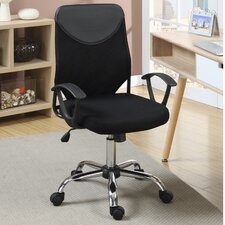 Mid-Back Mesh Task Chair with Arms