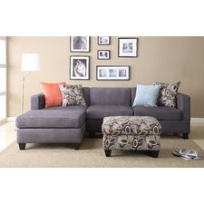 Zach Reversible Chaise Sectional