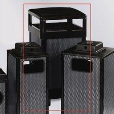 29-Gal Dimension 500 Series Hinged Top Receptacle