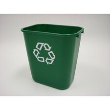 7-Gal Recycling Waste Basket (Set of 12)
