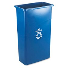 Slim Jim 15.88-Gal Curbside Recycling Bin