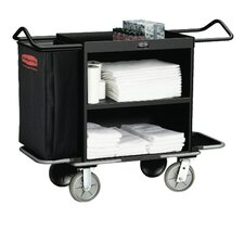High-Capacity Housekeeping Cart