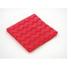 Hygen Microfiber Cleaning Cloths in Red