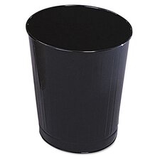 6.5-Gal Fire-Safe Steel Wastebasket (Set of 6)