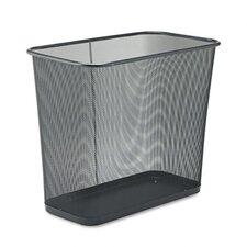7.5-Gal Rectangular Steel Mesh Wastebasket