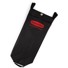 Fabric Cleaning Cart Bag in Black