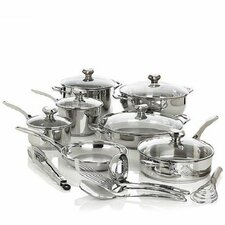 Bistro Elite 18 Piece Cookware Set
