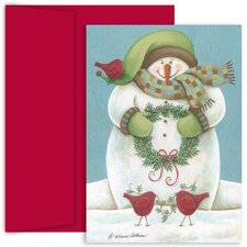 Masterpiece Studios Wintry Friends Boxed Holiday Card
