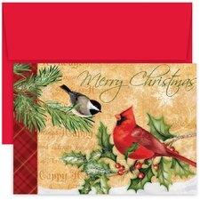 Masterpiece Studios Holiday Birds Boxed Holiday Card