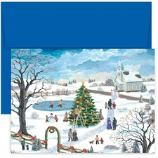 Masterpiece Studios Holiday Festivities Boxed Holiday Card