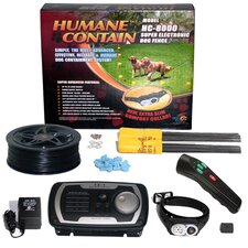 Extra Value Combo Systems Humane Contain Dog Electric Fence and Sonic Trainer