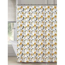Peva Flower Garden Shower Curtain