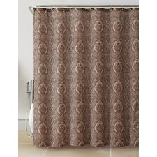 Anika 13 Piece Paisley Shower Curtain Set