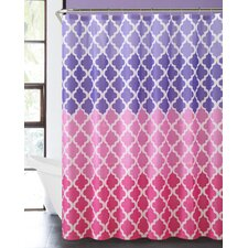 Ombre Zebra Shower Curtain