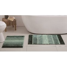 Tulane 2 Piece Bath Rug Set